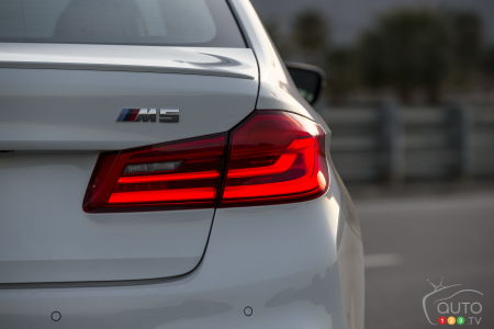 2020 BMW M5, badging
