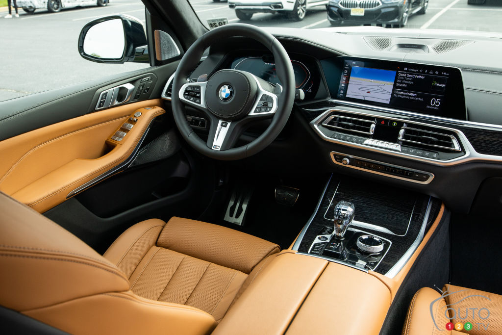 BMW X7 2020, intérieur