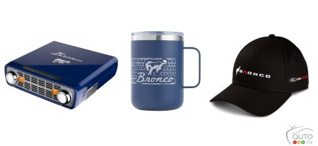 Bronco turntable, cup, cap