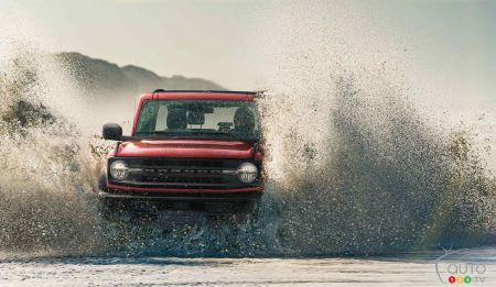 Ford Bronco Wildtrak 2021, dans la nature
