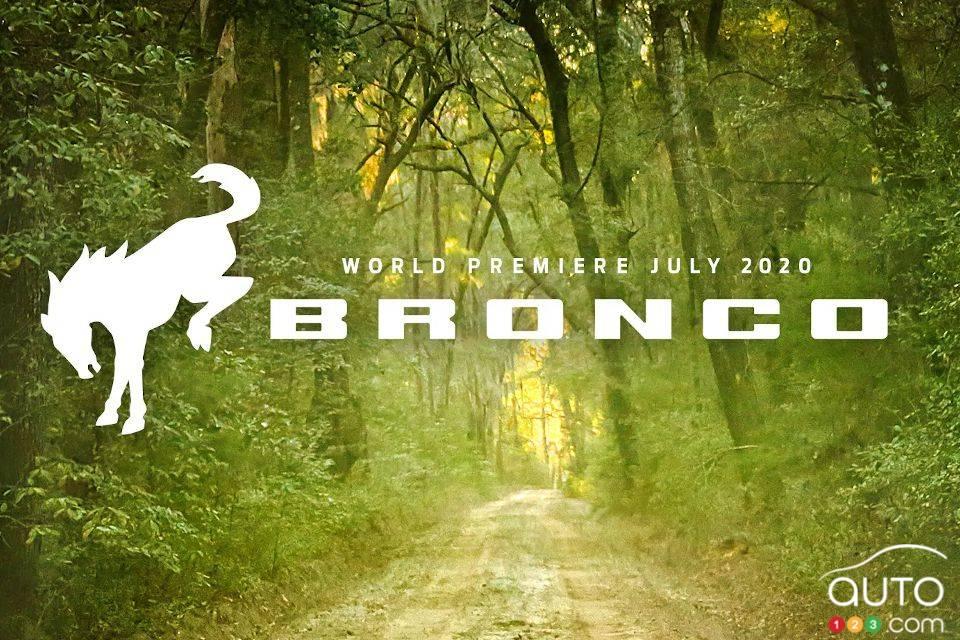 Annonce de la présentation du nouveau Ford Bronco 2021