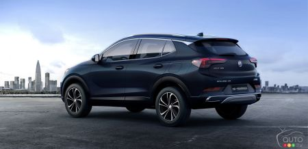 Buick reveals new second-gen Encore, Encore GX for China ...