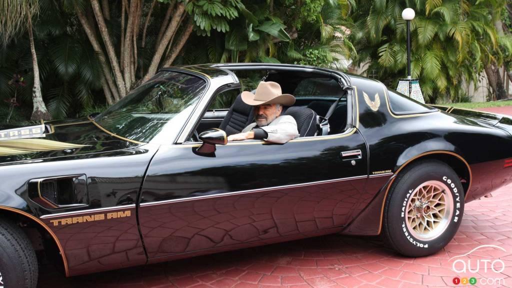 Burt Reynolds dans la Pontiac Trans Am 1979