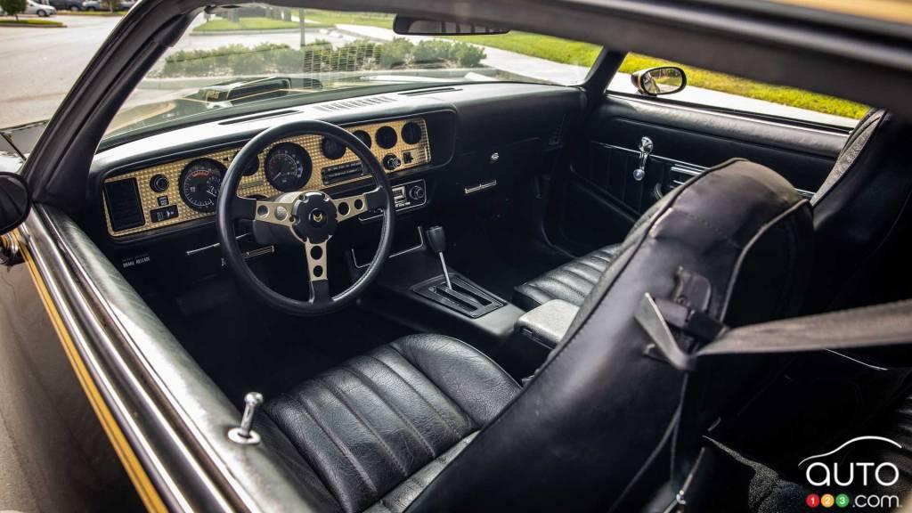 Pontiac Trans Am 1979, intérieur