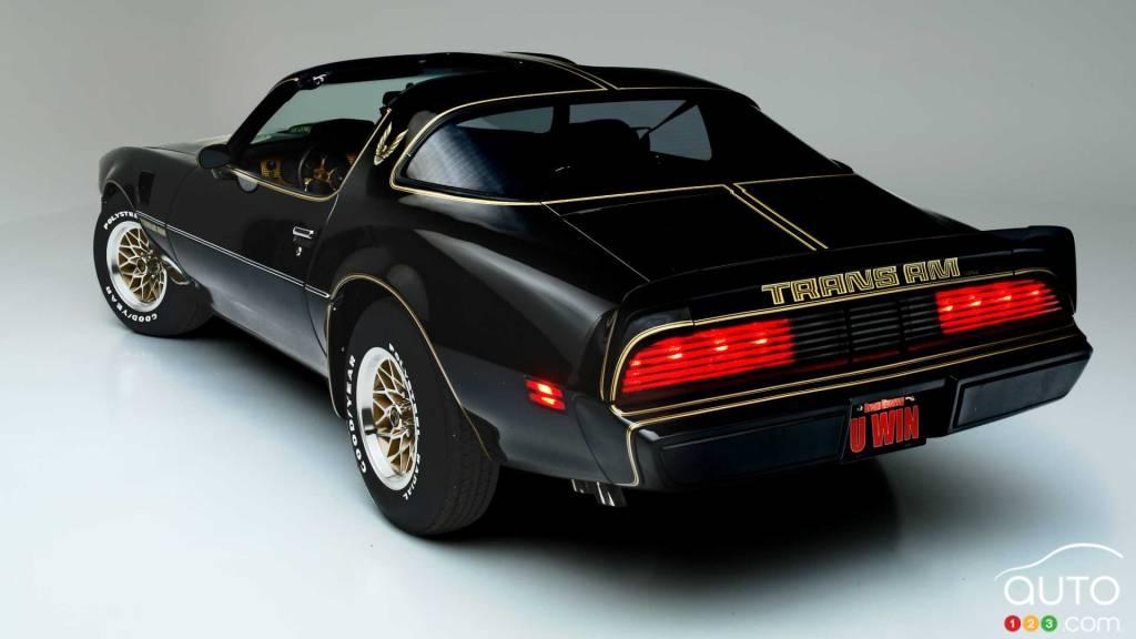 Pontiac Trans Am 1979, arrière