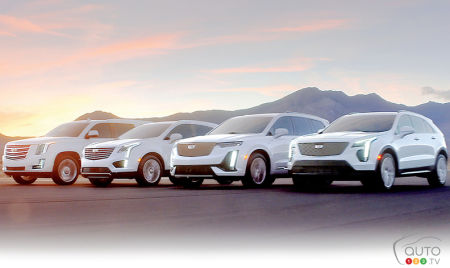 The Cadillac SUV lineup