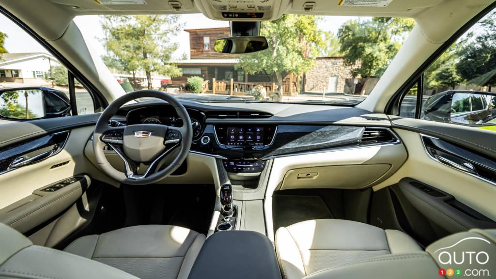 Cadillac XT6 2020, intérieur