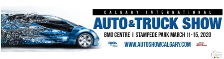 Ad for the 2020 Calgary auto show