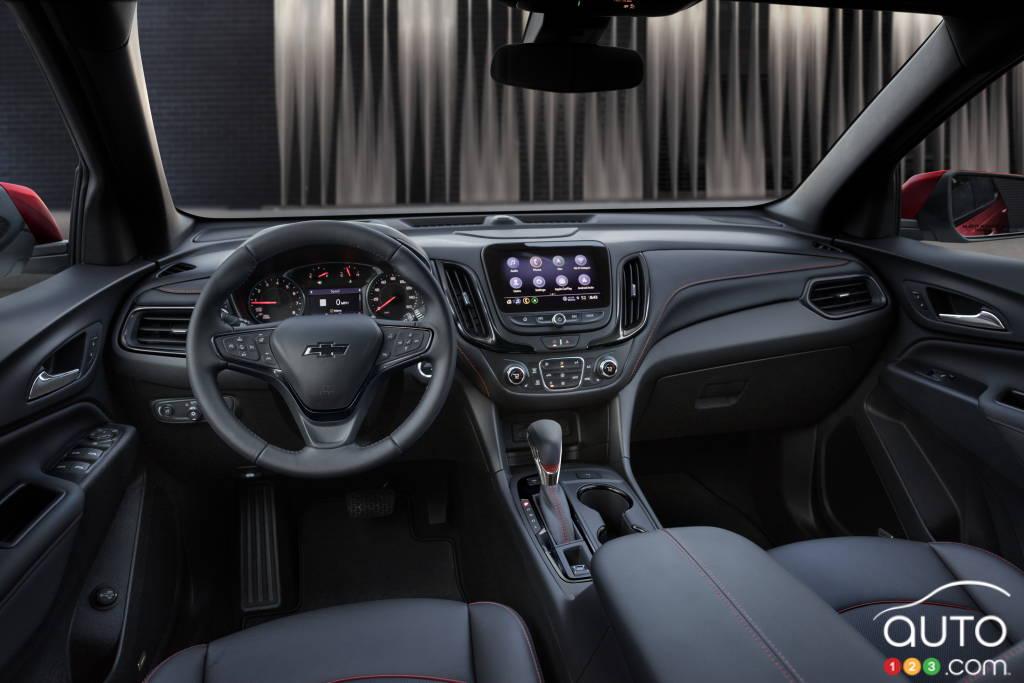 Chevrolet Equinox RS, intérieur