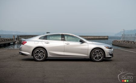2019 Chevrolet Malibu, profile