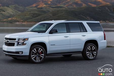 Chevrolet Tahoe RST 2020, profil