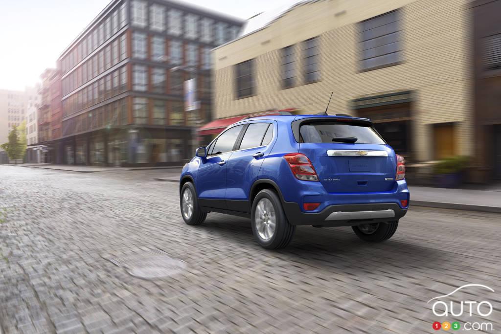 Chevrolet Trax 2020, trois quarts arrière