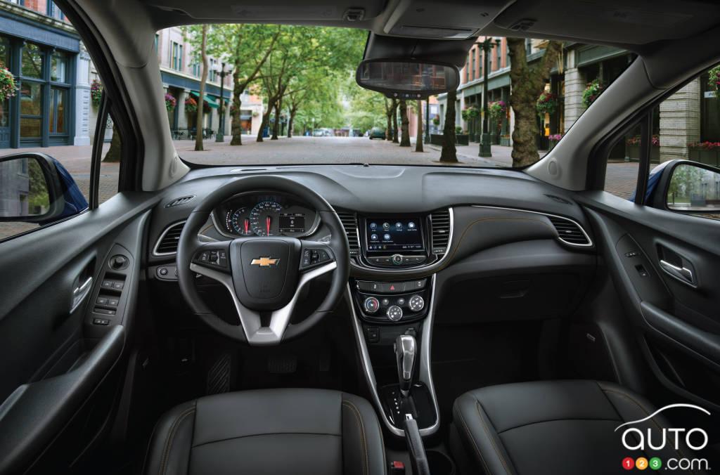 Chevrolet Trax 2020, intérieur