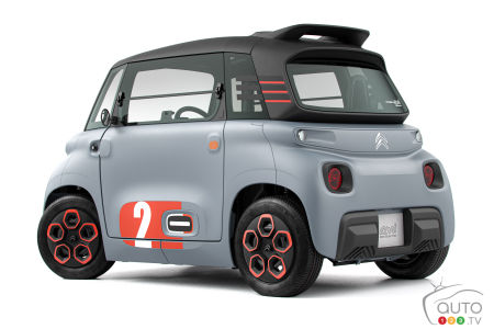 The Citroën Ami small electric city car