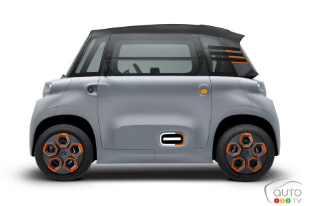 La Citroën Ami, profil