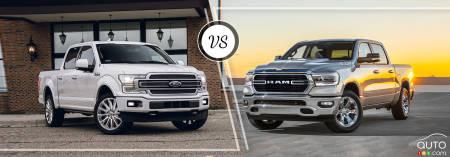 Comparison: 2019 Ford F-150 vs 2019 RAM 1500   Car Reviews