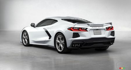 Instructions for dealerships for lifting the Corvette C8