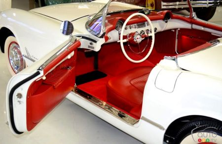 1953 Chevrolet Corvette, interior