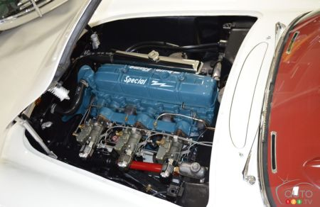 1953 Chevrolet Corvette, engine