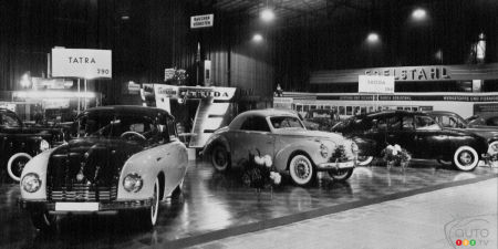 The first Frankfurt auto show, 1951