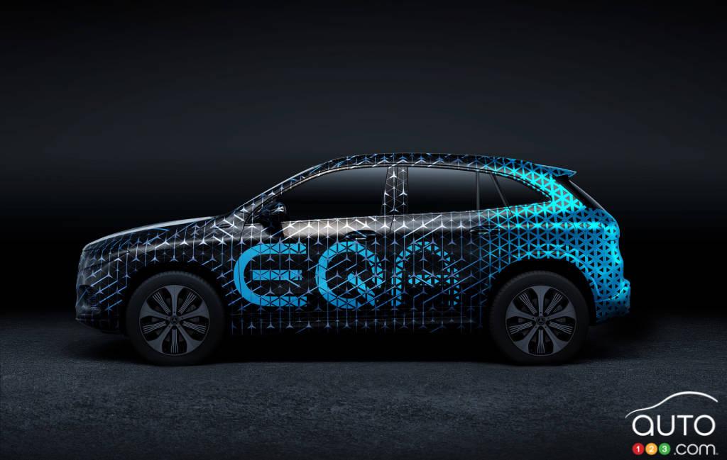 Mercedes-Benz EQA, profil