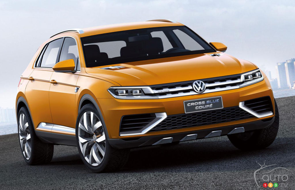 2020 VW Tiguan R, Changes, Coupe >> Tiguan Coupe Version Might Debut Next Year Car News Auto123