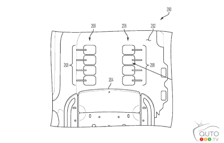General Motors patent application drawing