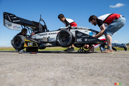 Amz Grimsel Electric Race Car Engine