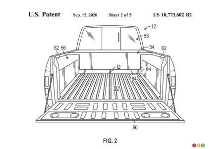 Brevet pour prolongeur d'autonomie pour le Ford F-150 , fig. 2