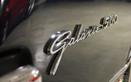 Nameplate of the Ford Galaxie 500