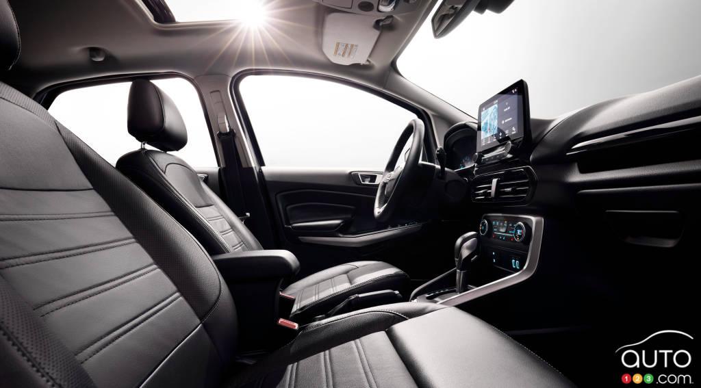 Ford EcoSport 2020, intérieur
