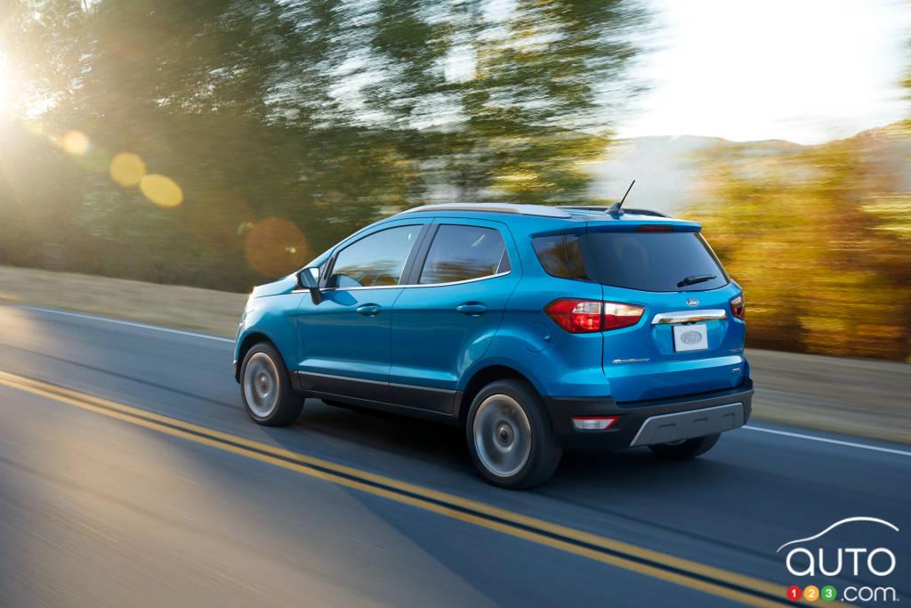 Ford EcoSport 2020, trois quarts arrière