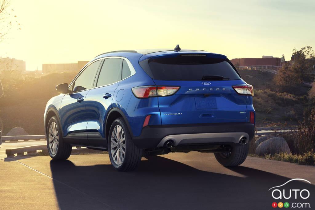 Ford Escape hybride 2020 Platinum