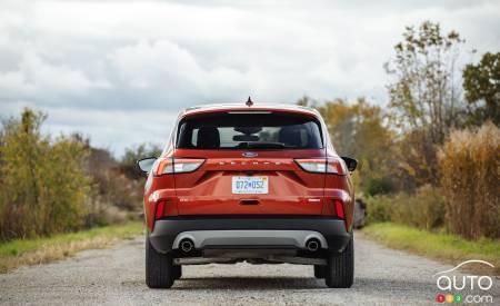 2020 Ford Escape, rear