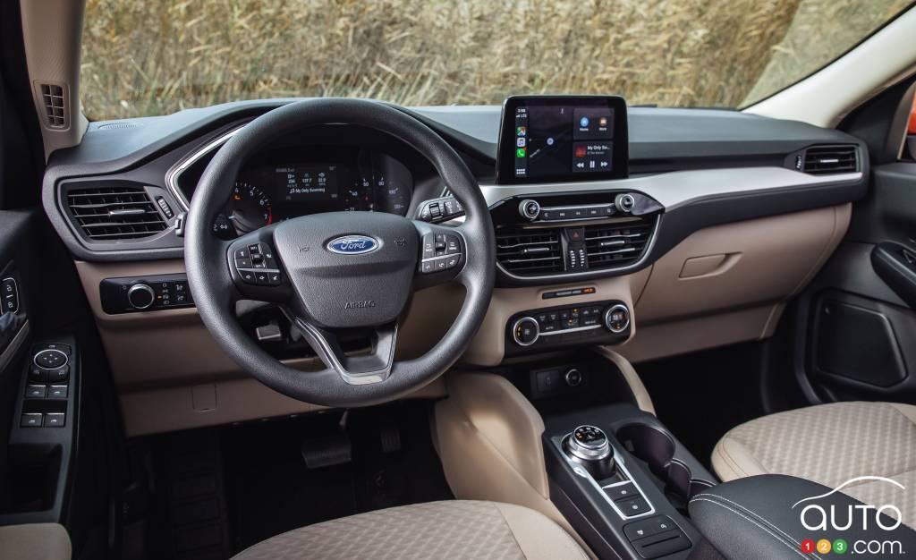 Ford Escape 2020, intérieur