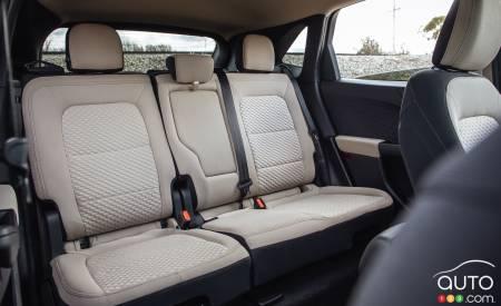 2020 Ford Escape SE, second row