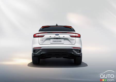 Ford Evos, rear