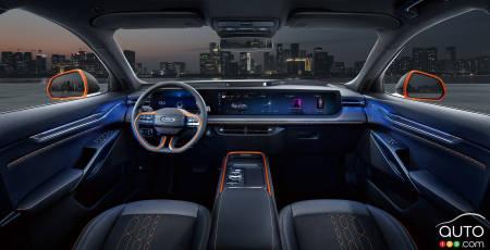 Ford Evos, interior