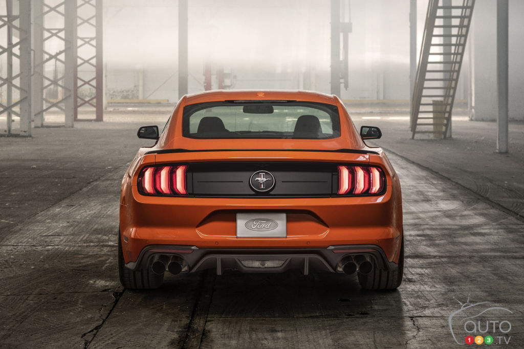 Ford Mustang EcoBoost HPP 2020, arrière