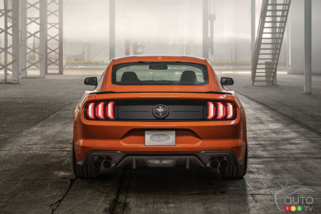2020 Ford Mustang EcoBoost HPP, rear
