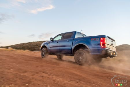 2020 Ford Ranger with Performance Parts Level 1 package