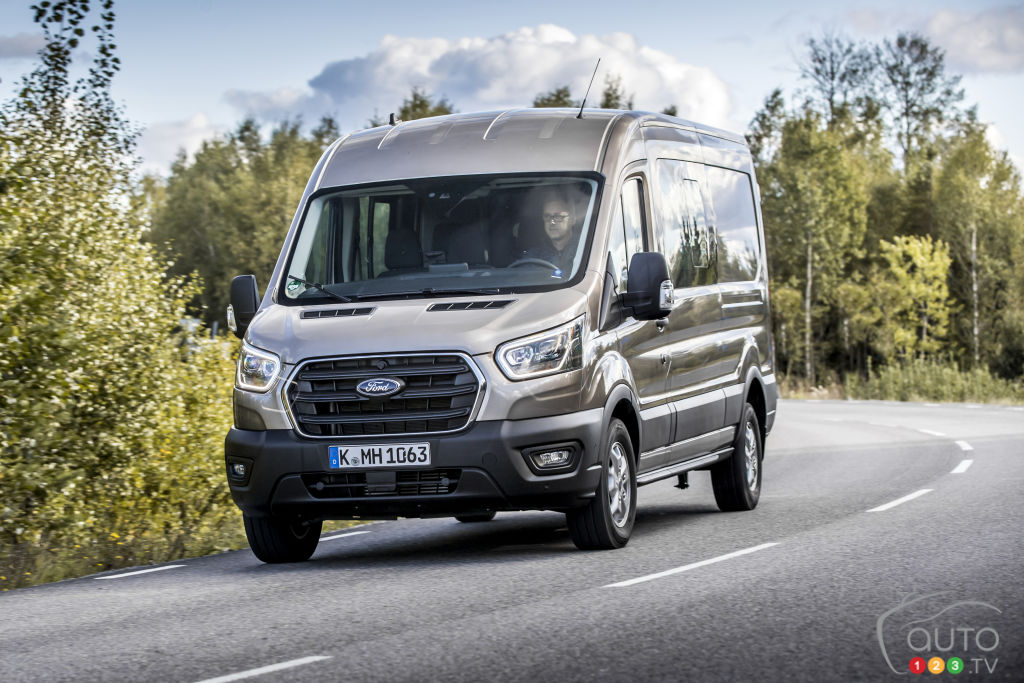 Ford Transit Double Cab hybride 2019