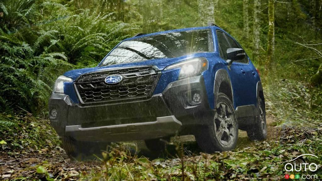 Subaru Forester Wilderness 2022, avant