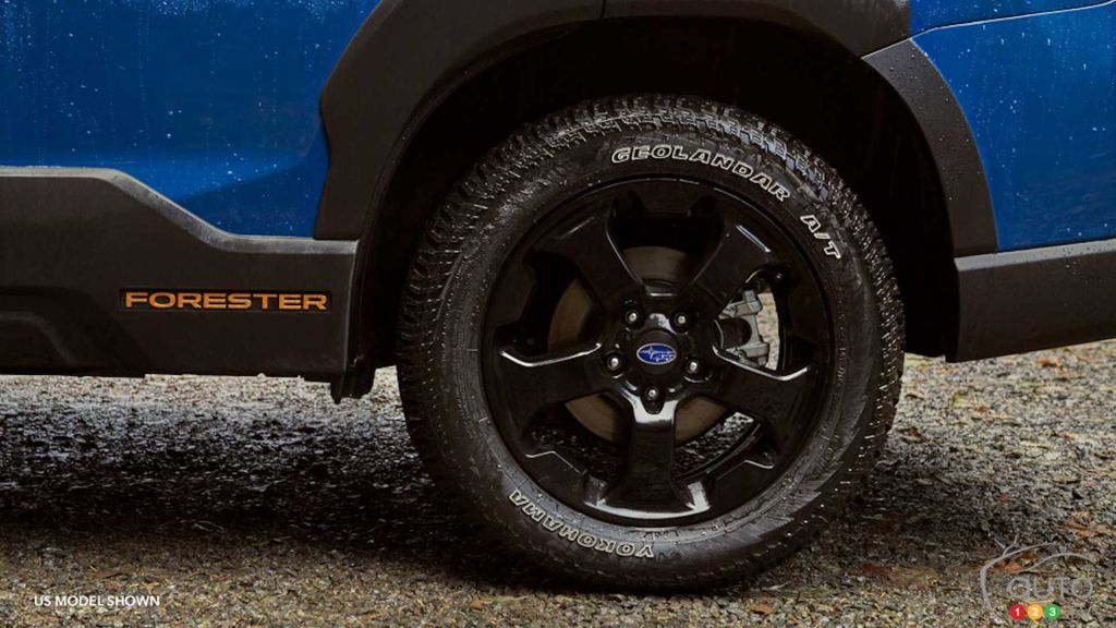 Subaru Forester Wilderness 2022, roue