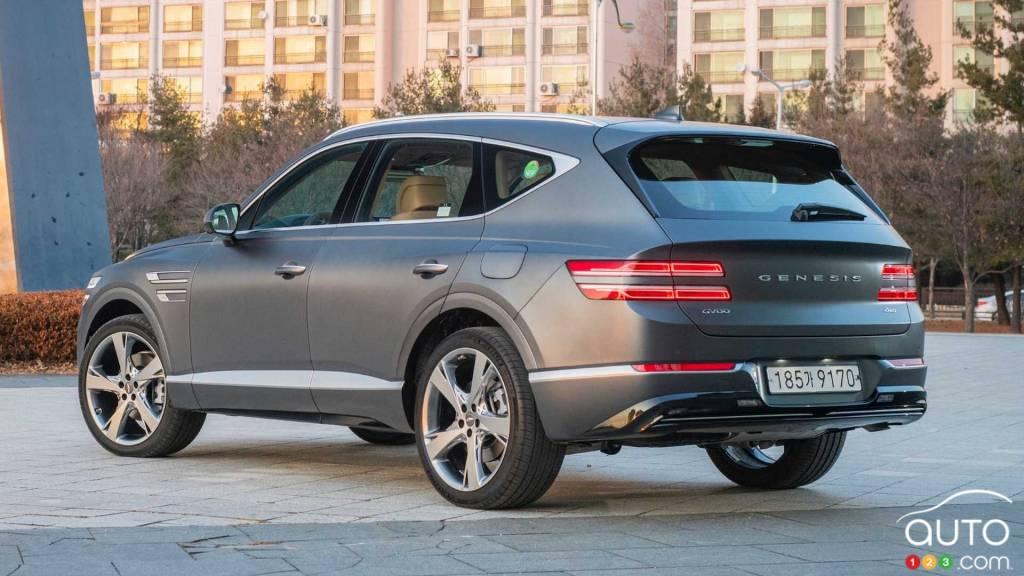 Genesis Canada Announces Pricing For 2021 Gv80 Car News Auto123