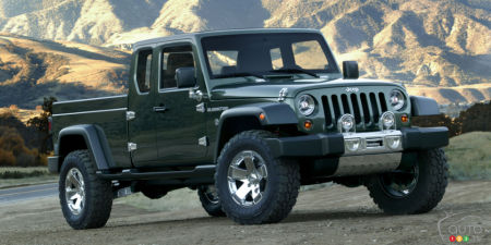 Prototype Jeep Gladiator