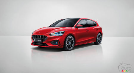 2020 Ford Focus hatchback for Asia