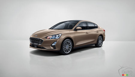 2020 Ford Focus sedan for Asia