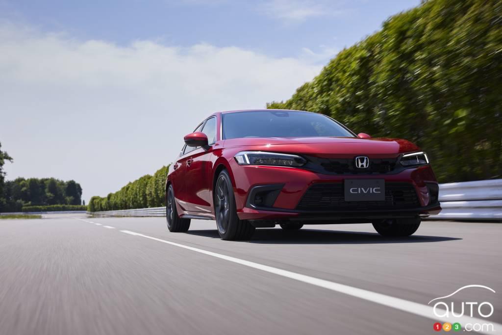 Honda Civic Hatchback 2022, avant