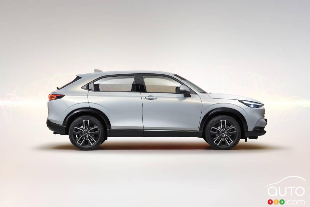Honda HR-V 2022 (Asie, Europe), profil